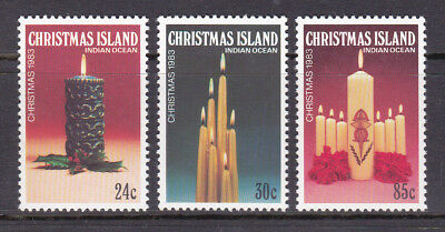 Christmas Island 1983 Christmas Candles Set UM Cat £1.20