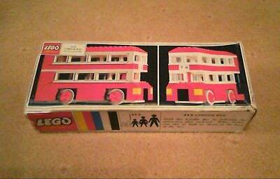 Vintage Lego box only 313 London Bus