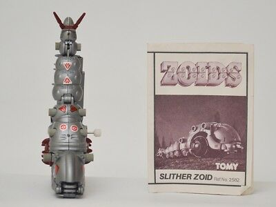 zoids - OER - Slither Zoid- TOMY figure with instructions.