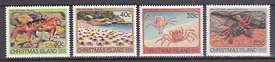 Christmas Island 1984 Red Land Crab Set UM Cat £1.30