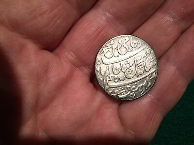 India. Silver Rupee East india company Bengal, very old..