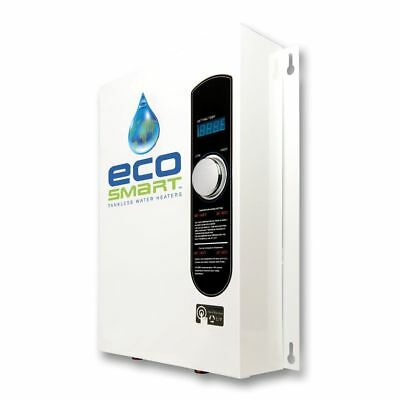 Ecosmart 18 Electric Tankless Water Heater  18KW 240 Volts Self Modulating