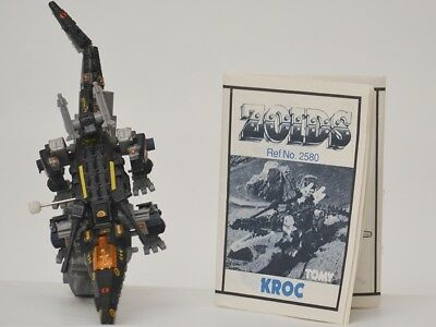zoids - OER - Kroc - TOMY figure with instructions.