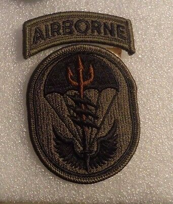 Militaria Special Operations Command South Airborne SOCSOUTH Multi Cam patch
