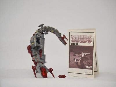 zoids - OER - Znake with NO MOTOR - TOMY figure with instructions.