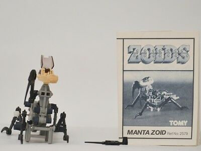 zoids - OER - Manta Zoid - TOMY figure with instructions.