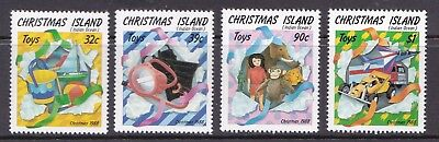 Christmas Island 1988 Christmas Set UM Cat £2.55