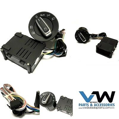 For VW T5 T5.1 Transporter Auto Headlight Switch & Module Upgrade 2003 - 15 New