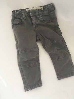 So Adorable Boys Cotton On Denim Jeans Size 1 Washed Grey
