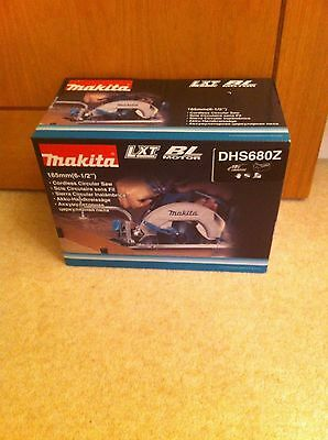 Brand New Makita DHS680Z Cordless Brushless 165mm Saw