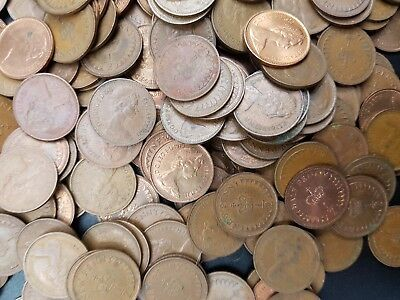 Circulated Decimal 1/2p Coin, QE2 1/2 Penny Coins, GB