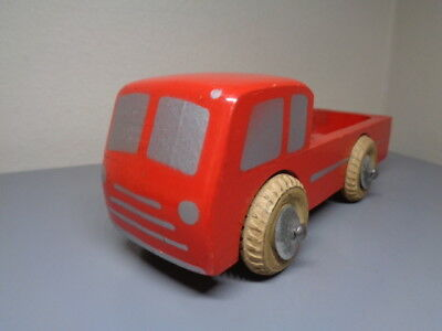 Lego Denmark Vintage 1950's Wood Truck Ultra Rare Item Very Good Condition