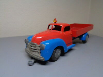 TEKNO DENMARK No 750 VINTAGE 1950'S DODGE TIPPER TRUCK VERY RARE ITEM VERY GOOD