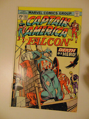 CAPTAIN AMERICA #183 (Mar 1975, Marvel)  .99 auctions with NO RESERVE!!