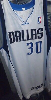 Dahntay Jones Game Used Worn Dallas Mavericks Jersey #30 - NBA Authentics Patch