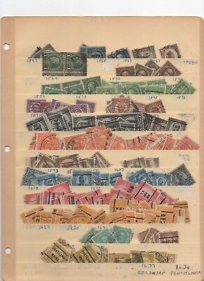 1920s-30s Used US Definitive Hoard UNPICKED PRECANCELS NO RESERVE!!!