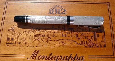 Montegrappa Cosmo Aboriginal 1998 limited edition sterling fountainpen