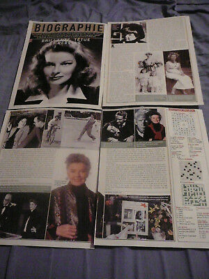 Katharine Hepburn Clippings Découpures 7 Jours Mini Biography August 16, 2002