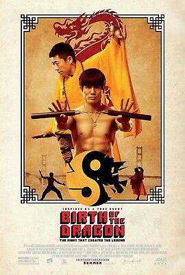 Birth Of The Dragon Movie Poster- 27x40