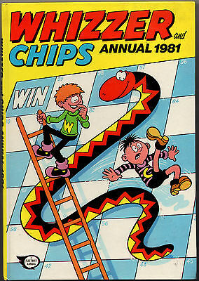 Whizzer & Chips Annual 1981