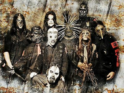 Slipknot Heavy Metal Poster The Gray Chapter All Hope Is Gone