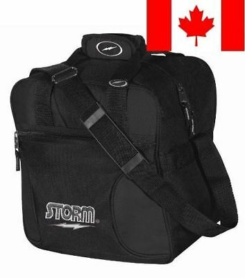 Storm Solo Bowling Bag, 1-Ball, Black