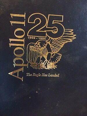 APOLLO 11 / Lunar Remnants Portfolio - Hardcover and Includes Patches