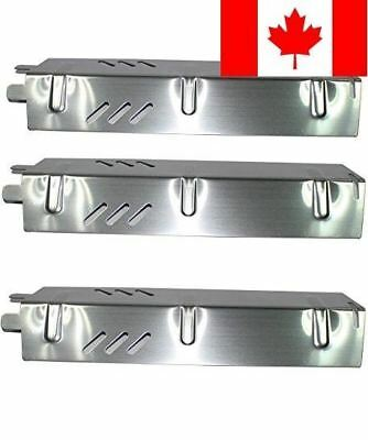 Grill Valueparts Stainless Steel Heat Plate (3-pack) for Backyard Grill Model...