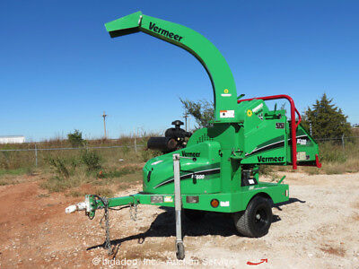 "2013 Vermeer BC600XL 6"" Towable Wood Chipper Brush Cutter Shredder Kohler Gas"