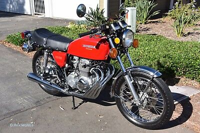 "1975 Honda CB  1975 Honda CB400F ""Super Sport""  1,003 ORIGINAL MILES !!!   MINT Condition."