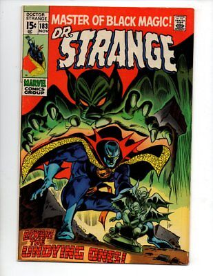 "Doctor Strange #183 (Nov 1969, Marvel) VF- 7.5 ""THEY WALK BY NIGHT"" GUIDE $30"