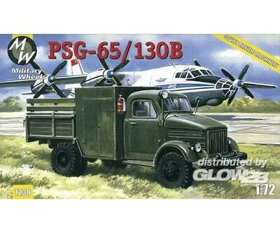 Military Wheels MW7238 PSG-65130B on the GAZ-51 in 1:72