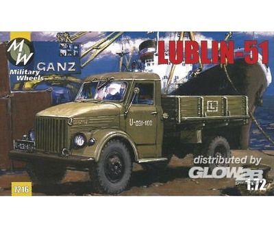 Military Wheels MW7216 Lublin 51 on the GAZ-51 in 1:72