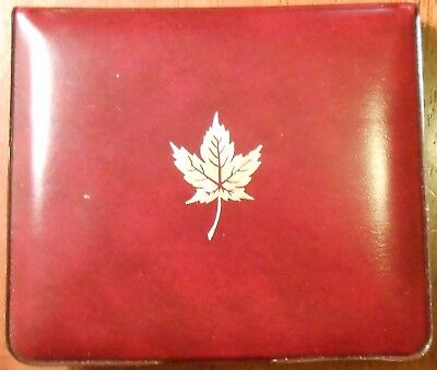 1980 Royal Canadian Mint Set 7 Piece Coin In Original Box