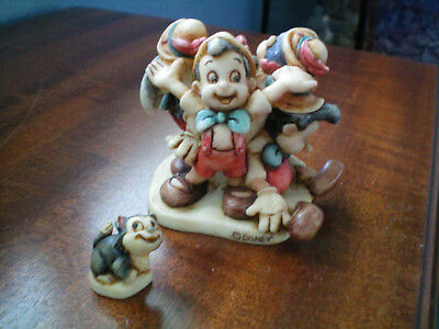 Harmony Kingdom Disney Many Moods of Pinocchio RARE PROTOTYPE