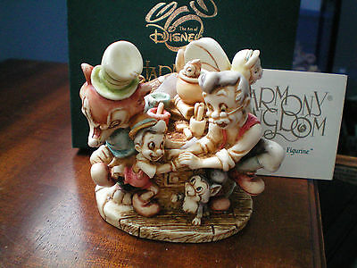 Harmony Kingdom Disney Pinocchio's Great Adventure NIB