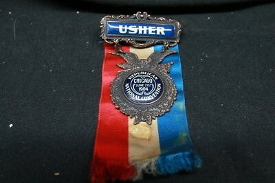 1904 Republican National Convention Usher Medal
