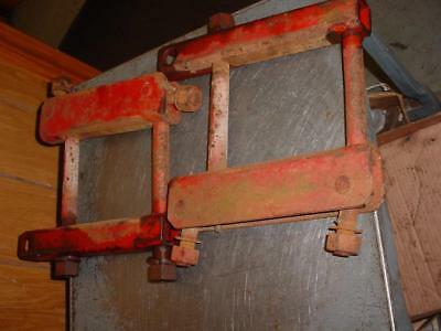 Original Farmall M-Super M-400 Tractor Axle Draw Bar Brackets Ihc H-Super H-300