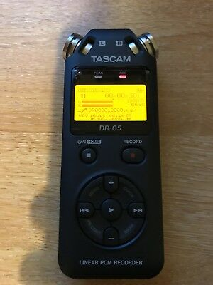 Tascam DR-05 High Quality Linear PCM Portable Audio Recorder - boxed 2gb