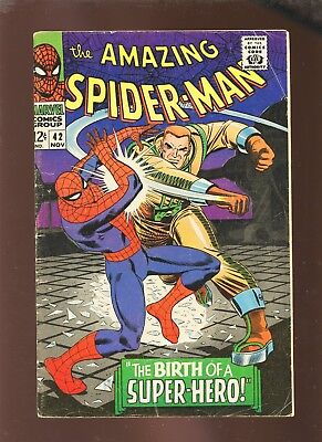 Amazing Spider-Man 42 VG+ 4.5 * 1 Book Lot * 1st Full Mary Jane Watson!!!
