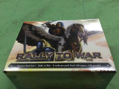 Bushiroad Rally to War Booster Box New Dragoborne db-bt01 factory sealed 20 pack