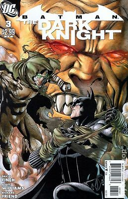 Batman the Dark Knight #3 DC Comics 2010 Andy Clarke 1:25 Variant Cover Comic