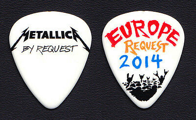 Metallica By Request Europe James Hetfield Guitar Pick 2014 Tour