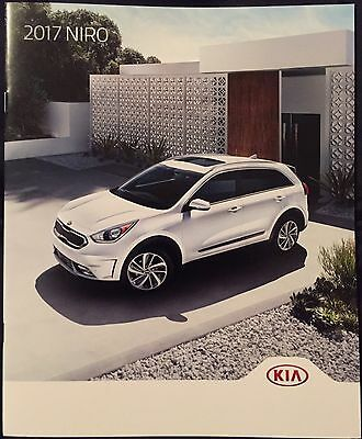2017 Kia Niro Original Sales Marketing Brochure FE, LX, SX, Touring LE, Touring