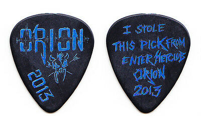 Metallica Orion Festival Metclub Exclusive Guitar Pick - 2013 Tour Detroit