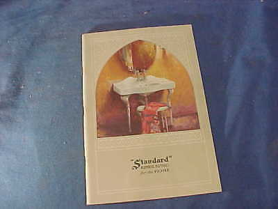Orig 1930s STANDARD Brand PLUMBING FIXTURES Advertising CATALOG