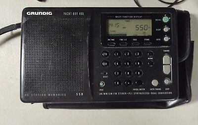 Grundig Yacht Boy 400 Portable SWL Shortwave Receiver