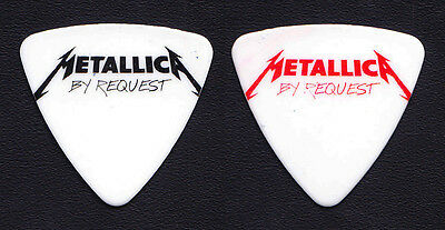 Metallica Robert Trujillo Heavy Montreal By Request Bass Guitar Pick - 2014 Tour