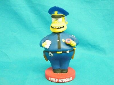 Funko 2007 The Simpsons Bobble Head Chief Wiggum 6.5""