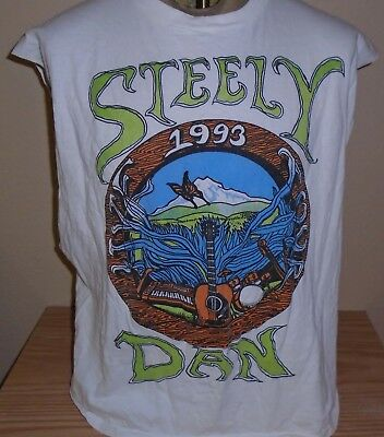 Vintage Steely Dan Tour t shirt rock concert  1993